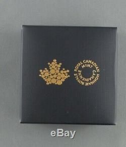 1/10 Oz Pure Gold Maple Leaf 2020 Colville 50 Cent Wolf