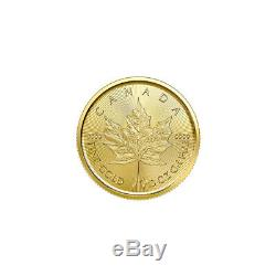 1/10 oz 2020 Canadian Maple Leaf Gold Coin