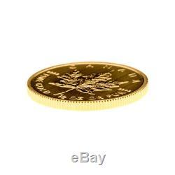 1/2 oz Random Year Canadian Maple Leaf Gold Coin