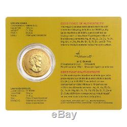 1 oz 2009 Royal Canadian Mint 99999 Gold Coin