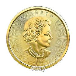 1 oz 2021 Canadian Maple Leaf Gold Coin