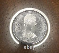 10 Oz. 9999 Fine Silver 2017 Canada Niagara Falls Coin In Capsule