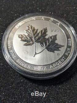 10 oz 2020 Silver Magnificent Maple Leaf Coin Bullion RCM 9999 Free Shipping
