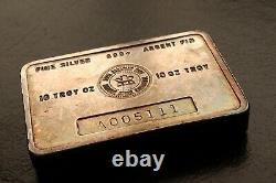 10 oz RCM Royal Canadian Mint Vintage 999 Silver Bar