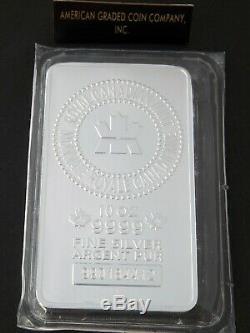 10 oz- Royal Canadian Mint. 9999 Silver Issue Bar -10 OZ-Plastic Sealed