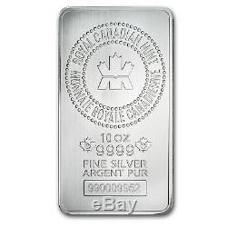 10 oz Silver Bar RCM (. 9999 Fine, New Style) SKU #83022