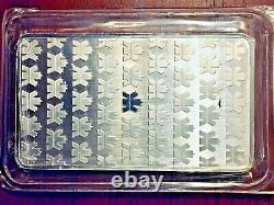 10 oz Silver Bar Royal Canadian Mint. 9999 Fine, Sealed