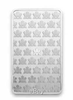 10 oz royal Canadian mint silver bar. 9999