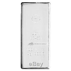 100 oz Royal Canadian Mint Silver Bar