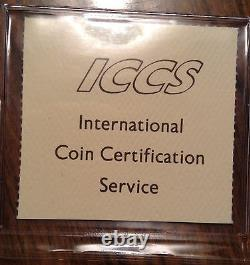 1858 Canada Silver 20 Cents Certified Vf-30 By Iccs Have A Look