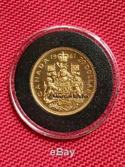 1967 Canada $20 Confederation Gold Piece B/U Specimen Capsule. 5287 AGW