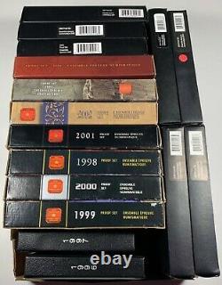 1996 2011 Royal Canadian Mint Proof Sets Lot of 16 Wholesale Deal