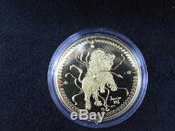 1998 $200 Gold Coin Legend of the White Buffalo RCM Two Hundred Gold Coin
