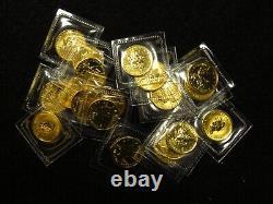 1999 1/10 Oz Canada Gold Maple Leaf MINT SEALED