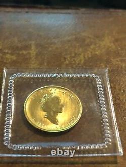 1999 RCM Sealed Canada 1/20 oz. 9999 Gold Maple Leaf Privy Mint Rare