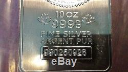 2×10 oz. Silver bars RCM, FREE SHIPPING