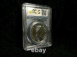 2008 Canada Maple Leaf PCGS MS68 Gold Plated 20 th Anniversary 1 oz Silver Gilt