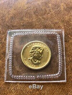 2008 RCM Sealed Canada 1/20 oz. 9999 Gold Maple Leaf Mint