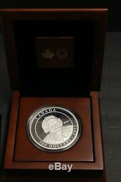 2015 10 oz Albert Einstein Silver Coin Royal Canadian Mint $100 1500 Made