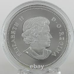 2015 $20 Story of the Northern Lights The Raven 99.99% Pure Silver Hologram