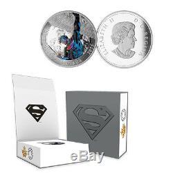 2015 Canada $20 Superman Action Comics #2, 1 oz. Silver Proof Coin withOGP + COA