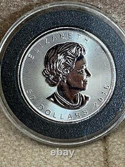 2016 1 oz Platinum Canadian Maple Leaf Coin $50.9995 Fine BU