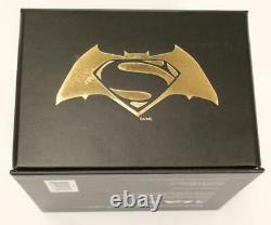 2016 $100 14 Karat Gold Batman vs Superman Dawn Of Justice Coin DC Box Coa