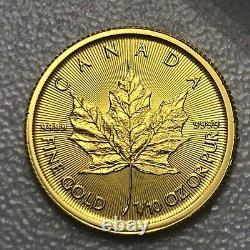 2017 1/10oz Gold Maple Leaf Coin
