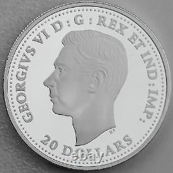 2017 $20 Aircraft of The Second World War Consolidated Canso Pure Silver Proof