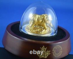 2017 Majestic Animals $100 Coin Sculpture Grizzly Royal Canadian Mint