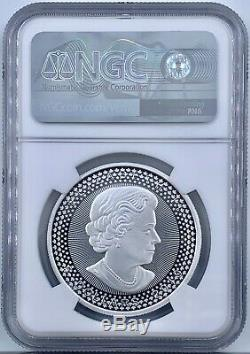 2019 Canada Pride of Two Nations Maple Leaf $5 Silver NGC PF 70 Early Releases