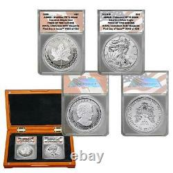 2019 FDOI Pride of Two Nations Royal Canadian Mint Set in ANACS PR 70 DCAM