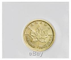 2020 Canada 1/20 oz Gold Maple Leaf $1 Coin GEM BU Mint Sealed SKU60073