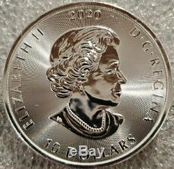 2020 Canadian Kraken 2 oz. 9999 Silver Coin pirate under the sea beast