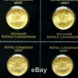 2020 MapleGram. 9999 Gold (1 Gram) 50 Cent Maple Leaf RCM ASSAY ECC&C, Inc