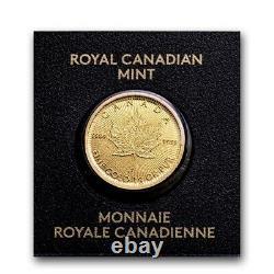 2021 25x 1 Gram Gold Maple Leafs RCM Maplegram25 In Assay IN STOCK