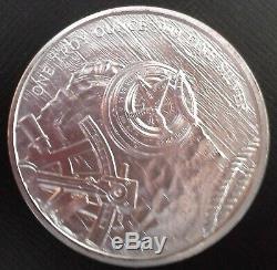 5 1 Troy Ounce Provident Original Prospector Rounds of. 999 Fine Silver BU