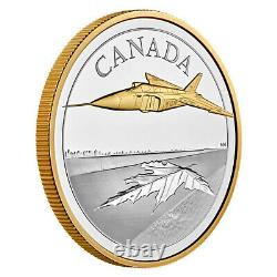 5 oz. Pure Silver Coin The Avro Arrow (2021) Royal Canadian Mint