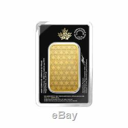 5 x 1 oz 2018 Gold Bar RCM. 9999 Gold New Design in Assay -Royal Canadian Mint