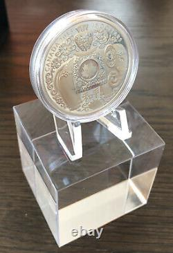 Canada 2013 $15 Maple of Peace Hologram, 1 oz. Pure Silver Proof, #5 in Series