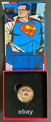 Canada 2013 $75 GOLD Coin Superman Rare The Early Years RCM