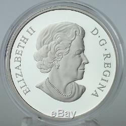 Canada 2014 $15 Year of the Horse 1 oz. 99.99% Pure Silver Proof Coin