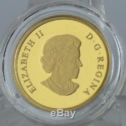 Canada 2014 $5 Bison O Canada 1/10 oz. 99.99% Pure Gold Proof Coin