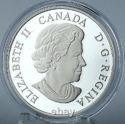 Canada 2015 $20 The Majestic Moose 1 oz. 99.99% Pure Silver Color Proof