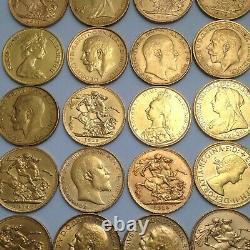 Gold Full Sovereign Best Value Bullion