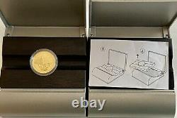 Look 2- 1999 Royal Canadian Mint $100 Gold Proof Coins In Box