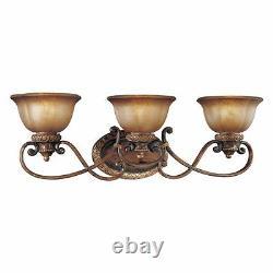 Minka Lavery 6353-177 Illuminati 3-Light Bathroom Vanity Illuminati Bronze