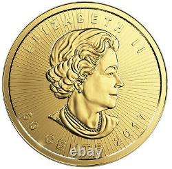 NEW 1 gram Canada Gold Maple 50c from Gold Maplegram 25 9999 Fine in assay