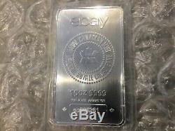 ONE / 1 Sealed Silver Bar Royal Canadian Mint RCM Ebay 10 Ounce Oz Sequential