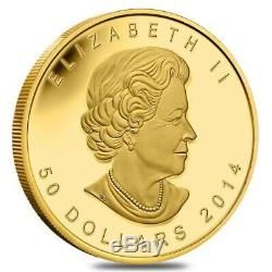 RARE 2014 Canada 1 oz Gold Five 5 Blessings BU $50 low mintage 350 Chinese Lucky